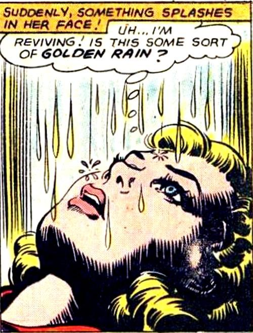 Golden rain showers