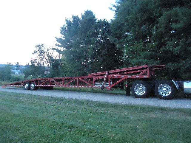 2005 EZ HAUL 4- Car with Tilt Deck - Car Carrier Trailer in