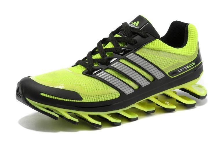 buy popular aa090 d0448 Mens Adidas Springblade Green Silver athletic running shoes adidas  originals Regular Price   180.00 Special Price  99.89 Brand  Adidas Gender  Mens  Shoes ...