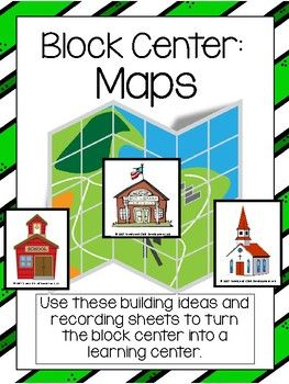 Kindergarten and Preschool Centers should be fun and educational. Use this original idea and recording sheet to turn the block center into a learning center. The block center ideas help promote friendship and cognitive thinking through cooperation and engineering skills.