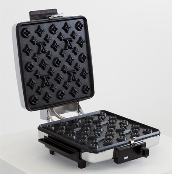 Want haute waffles to impress houseguests?  You need the Louis Vuitton waffle maker...