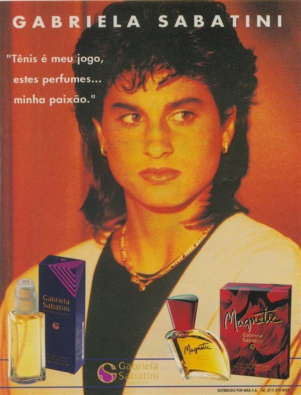 1994 Gabriela Sabatini perfumes