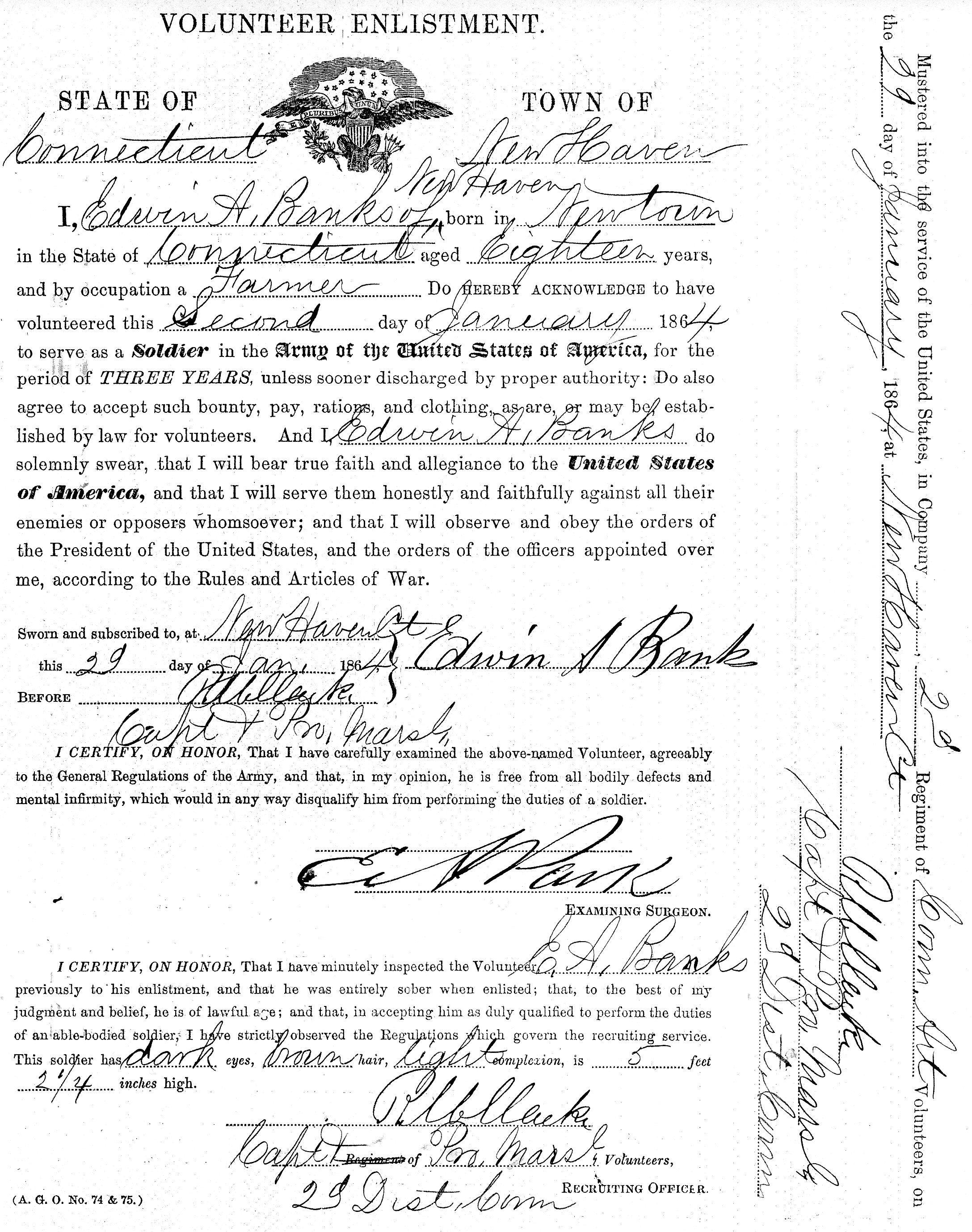 Writing A Family History Military Monday Civil War
