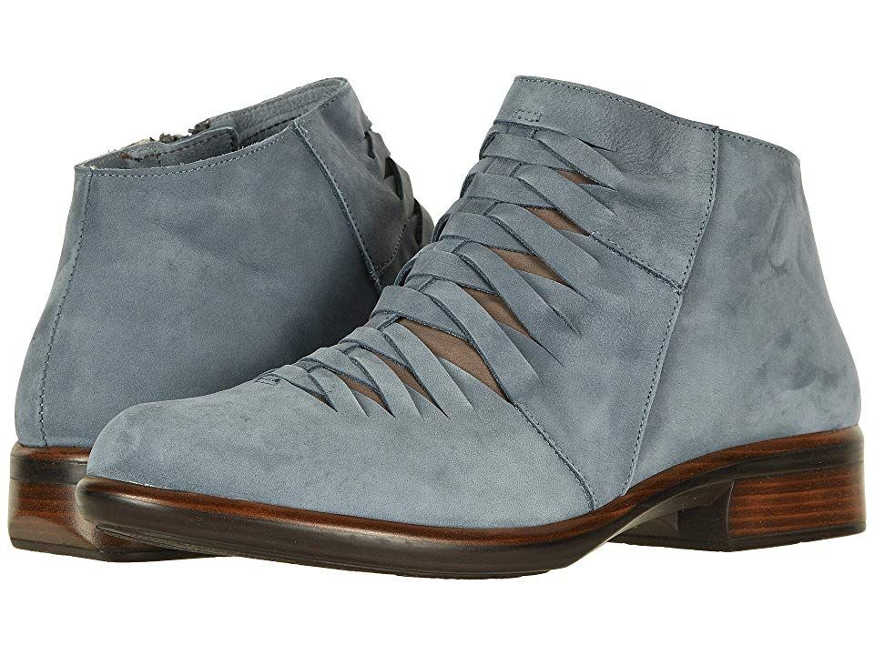 7ecd1d76dbb8 Naot Leveche (Feathery Blue Nubuck Shiitake Nubuck) Women s Boots. Start  the weekend