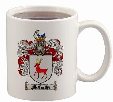 Davidson Scottish Clan Tartan 11oz Mug with Crest and Motto