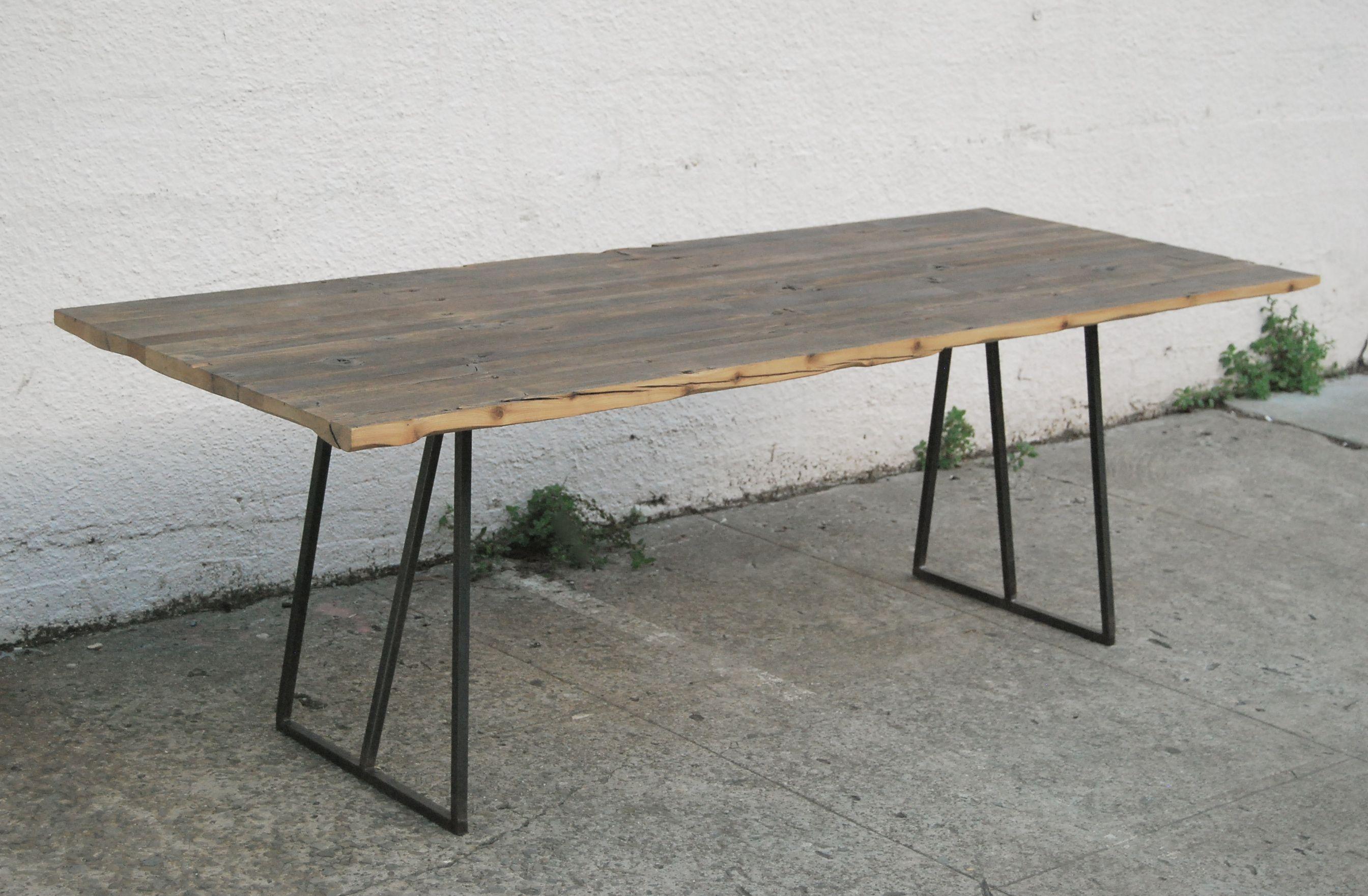 dining table with metal base Furniture Pinterest  : 91450ffebc55c3395e3cf2c1d6d4f998 from www.pinterest.com size 2688 x 1762 jpeg 1530kB