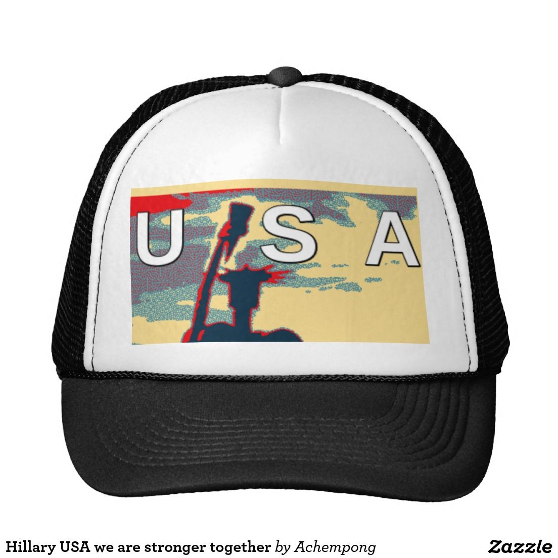 Hillary USA We Are #stronger Together Trucker #Hat