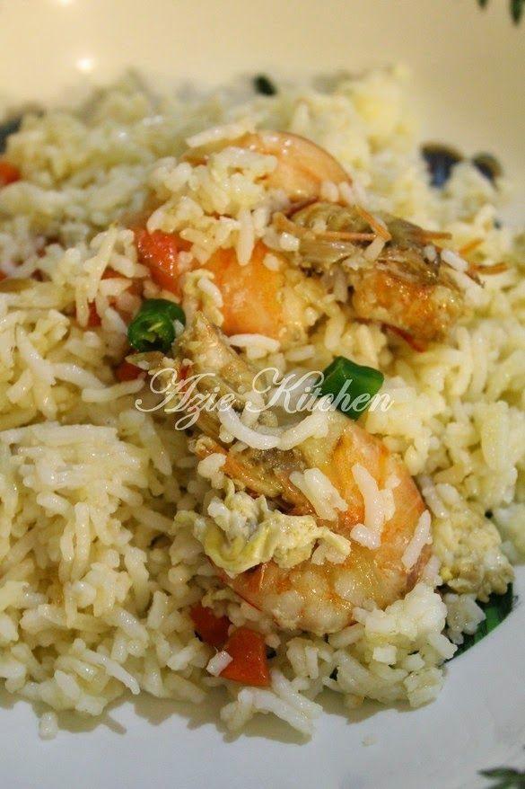 Azie Kitchen Nasi Goreng Cina Yang Sedap Makan Malam Masakan Malaysia Resep Masakan