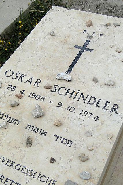 Httpwww Overlordsofchaos Comhtmlorigin Of The Word Jew Html: Detail Of Grave Of Oskar Schindler