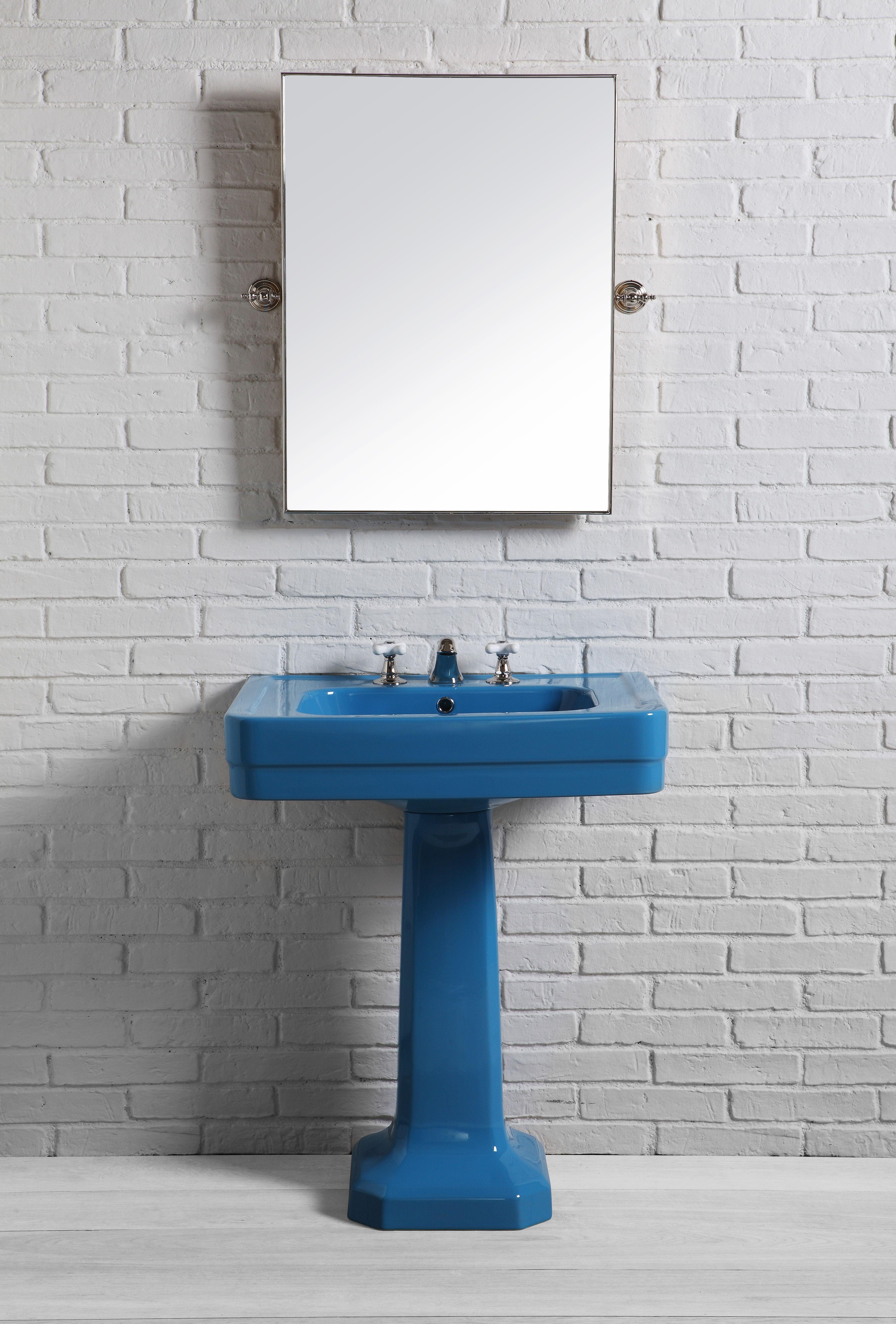 lavabo 70cm couleur azzuro sà rie provence 900 by bleu provence