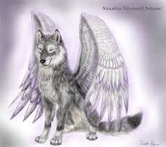 Image Result For Dibujos De Lobos Con Alas Art Pinterest Lobo