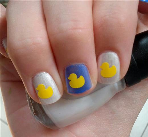 Rubber Duck Nail Art Decal Stickers by SweetGraffix on Etsy, $1.50 - Rubber Duck Nail Art Decal Stickers Duckies Nails, Nail Art