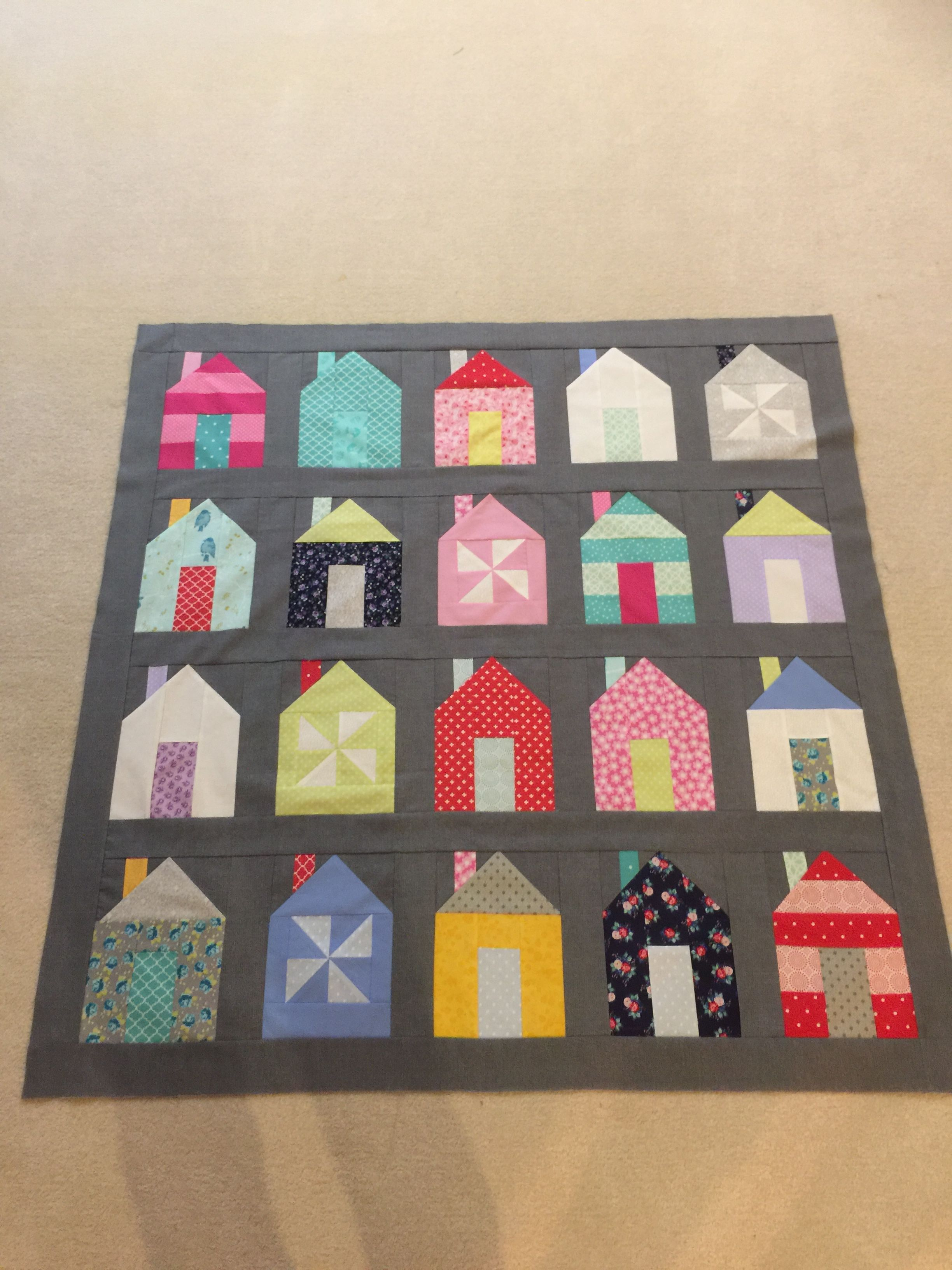 Dwell House inspired quilt
