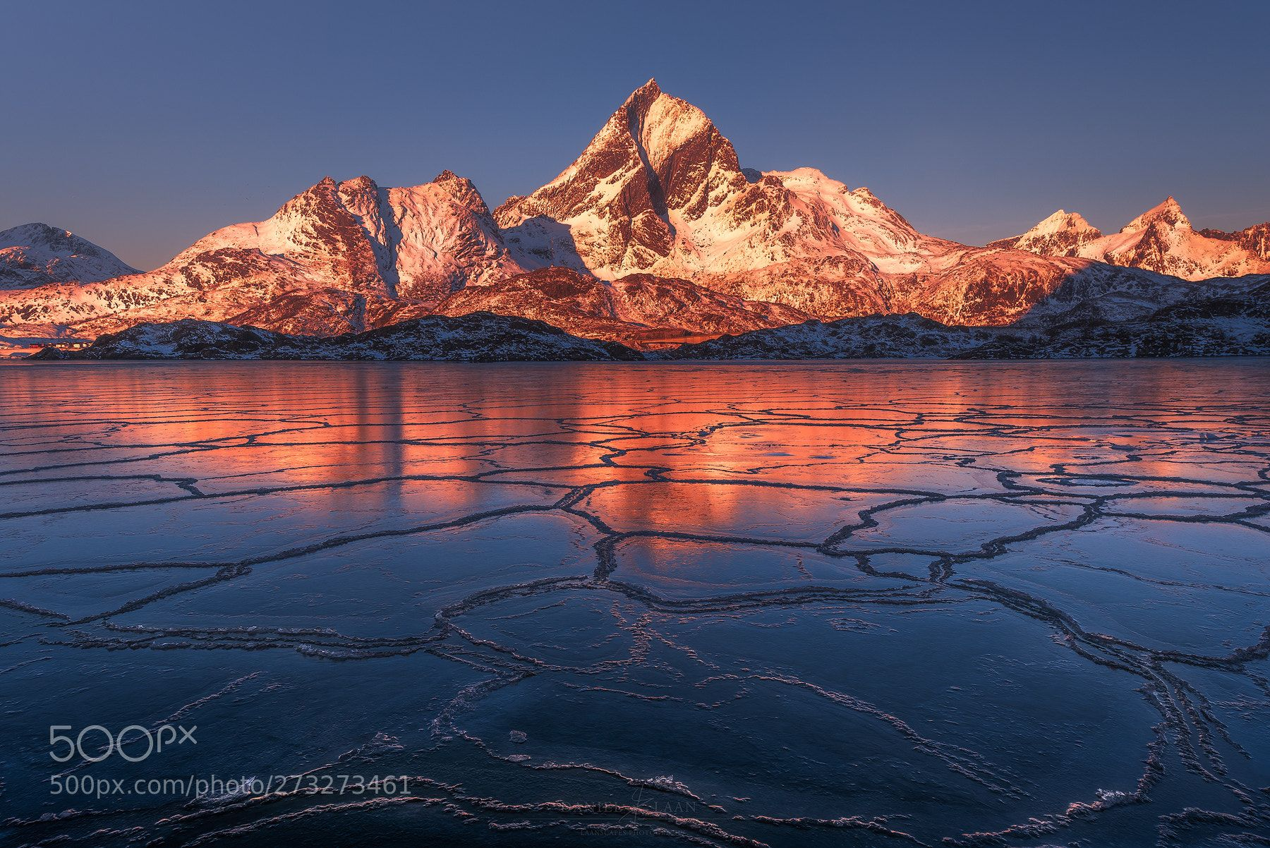Flames Under The Ice By Laanscapes Landscape Photographers