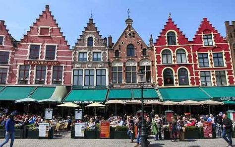 Explore beautiful Flemish cities like Bruges and Gent, visit the Rubens House in Antwerp and cycle through the beautiful landscapes of #Holland. #travel