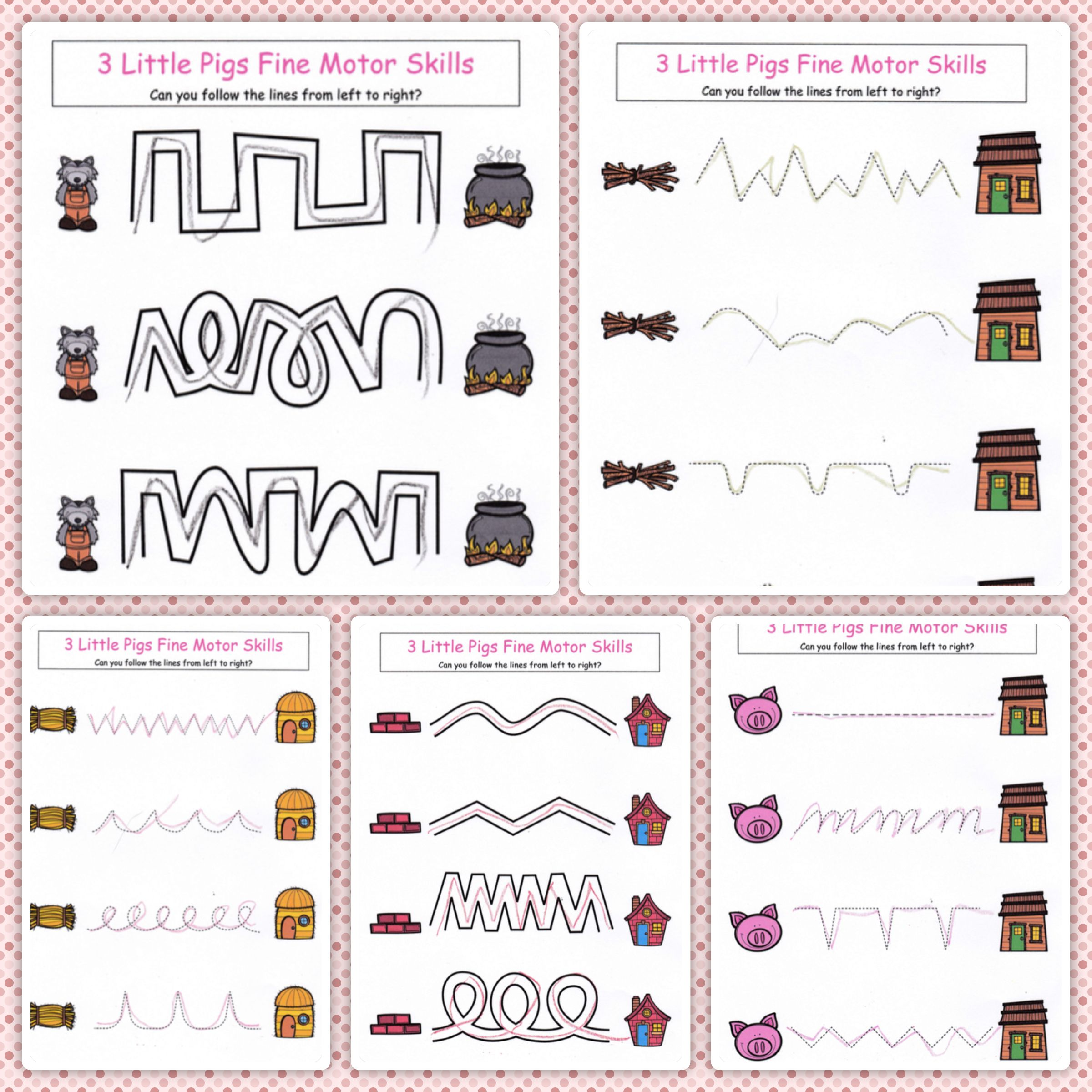 3 Little Pigs No Prep Activity Bundle