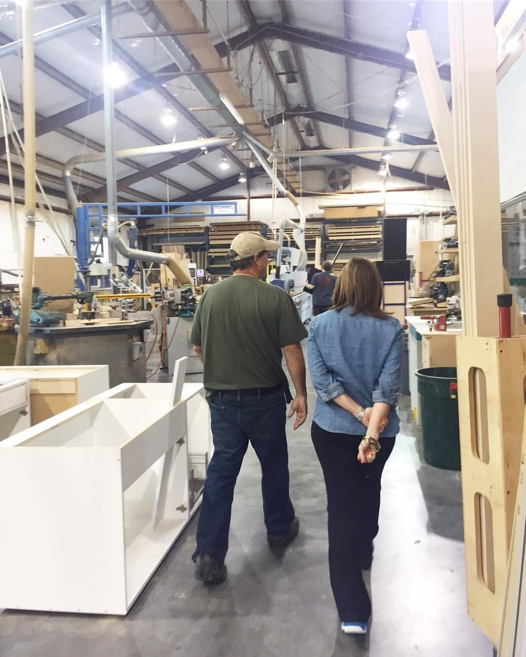 """121 Likes, 2 Comments - Ivette Arango Interior Design (@ivettearangointeriordesign) on Instagram: """"#BehindTheScenes- Inspecting custom cabinetry work for a project in Tallahassee! 🔨…"""""""