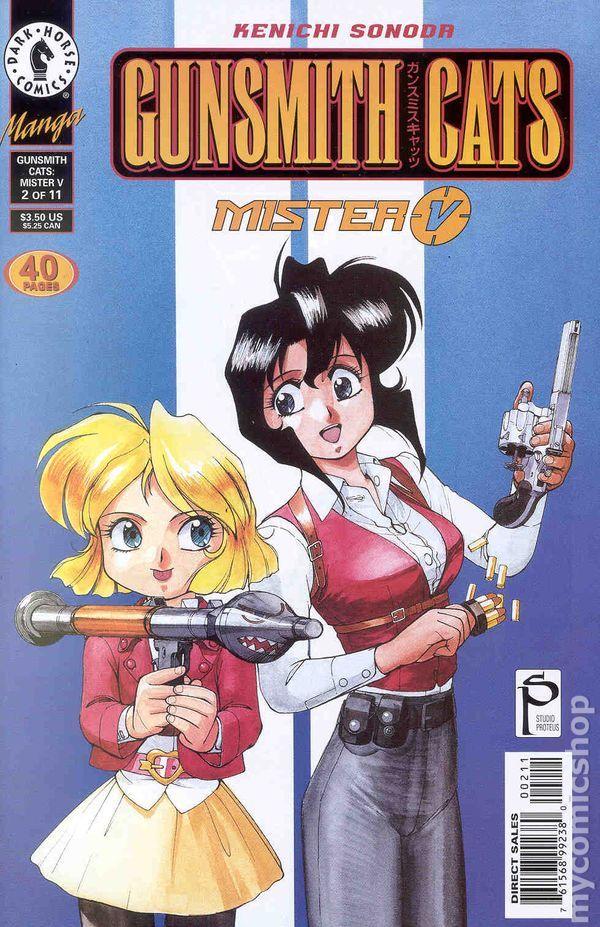 Gunsmith Cats Mister V (2000) 2 Comics, Dark horse, Sell