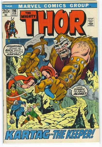 Asgardians - Kartag - The Mighty Thor - Thor Stands Or Falls Alone - Kartag The Keeper