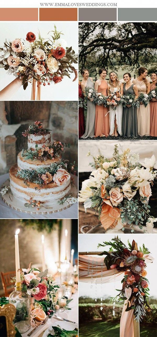 2019 Trending-28 Amazing Sunset Orange Wedding Color Ideas - EmmaLovesWeddings -   11 october wedding Colors ideas