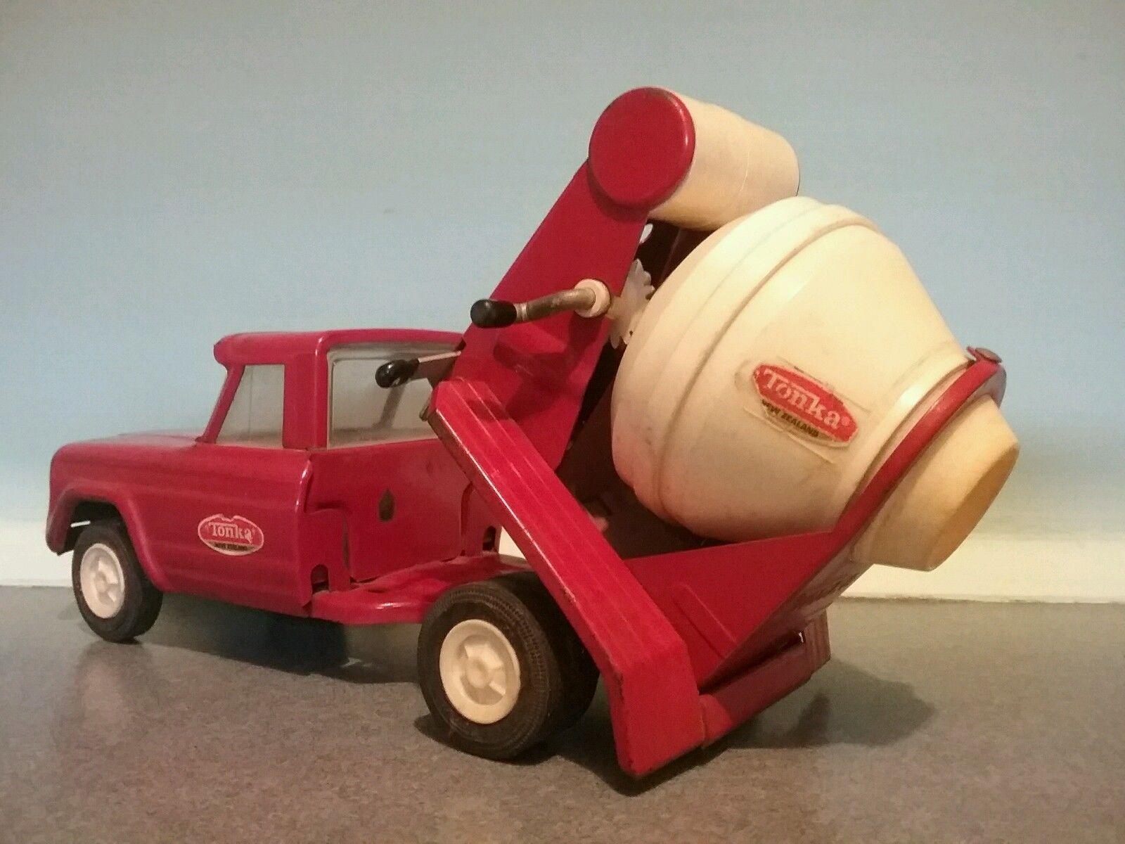 New Zealand 70s Tonka Cement Mixer In Toys Hobbies Diecast Vehicles Cars Trucks Vans Ebay Tonka Toys Diecast Cars Diecast