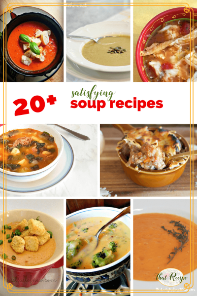 20 New Soup Recipes You Need To Try This Winter Soup Ideas