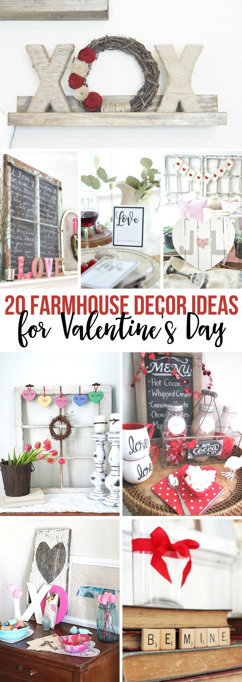 14 Modern Farmhouse Ideas For Valentine
