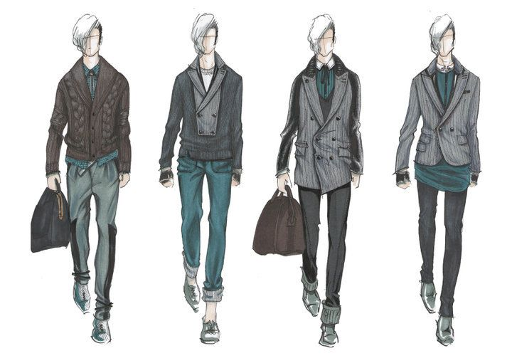 Mens Sketch | Designer Sketches | Pinterest | Sketches ...