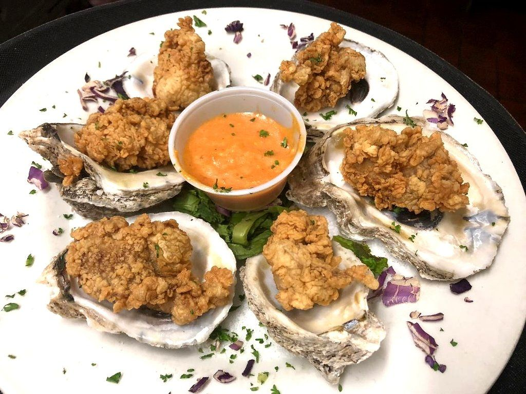 Pcb Best Seafood Fried Oysters On The Half Shell Boar S Head Restaurant Pcb Near Nw Fl Airport Vrbo Pcb Wy Slow Roasted Prime Rib Fried Oysters Gulf Seafood
