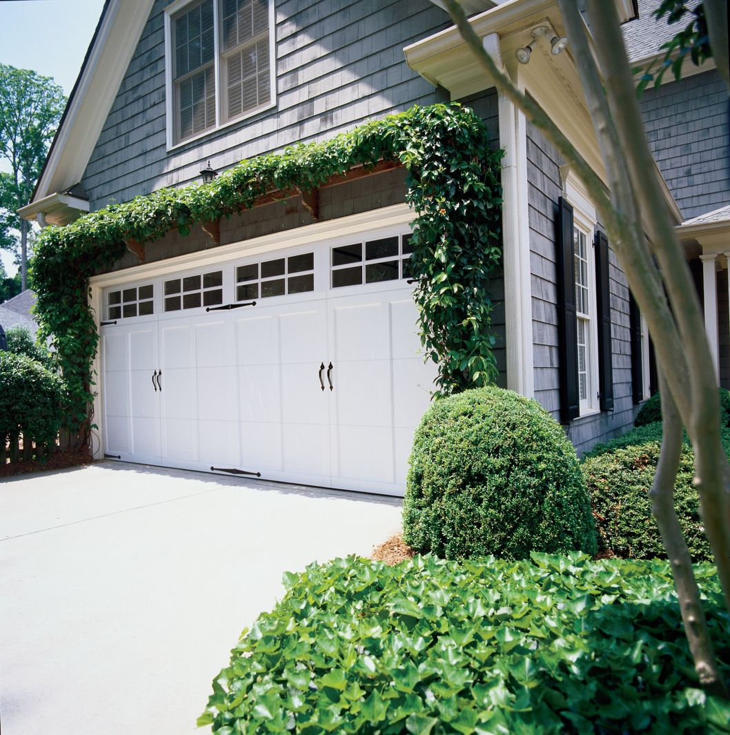 Dress Up Your Garage Doors With New Decorative Hardware And Faux