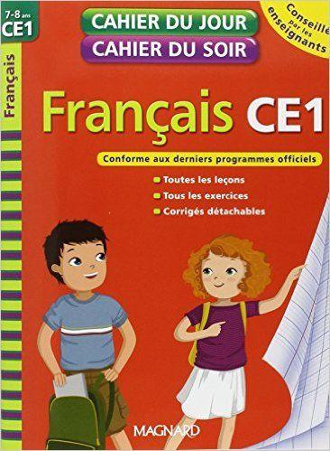 Francais Ce1 Cahier Du Jour Cahier Du Soir Pdf Francais