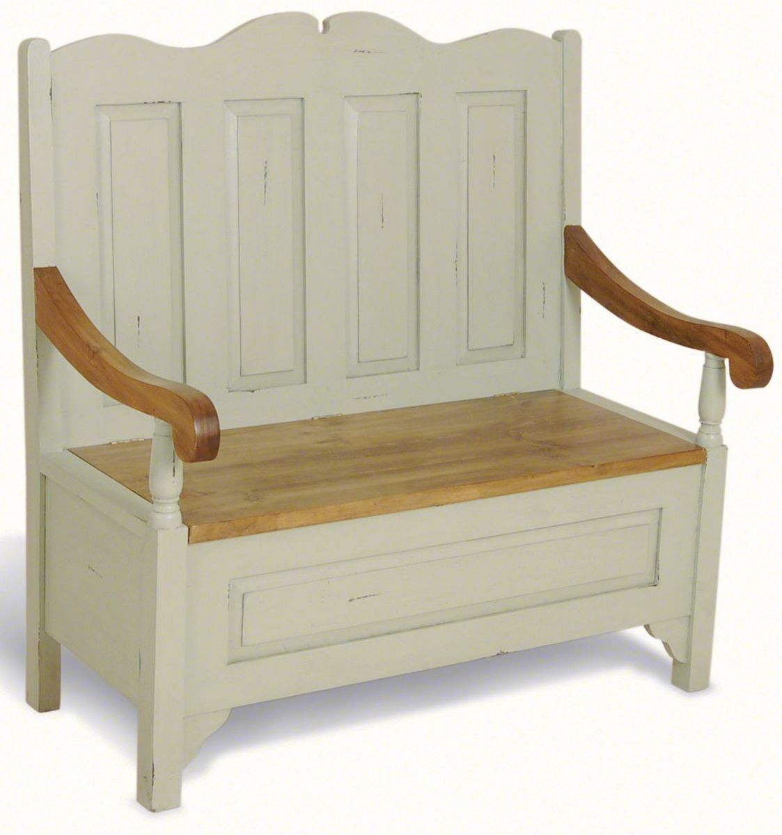 french painted monks bench monks bench pinterest monks bench