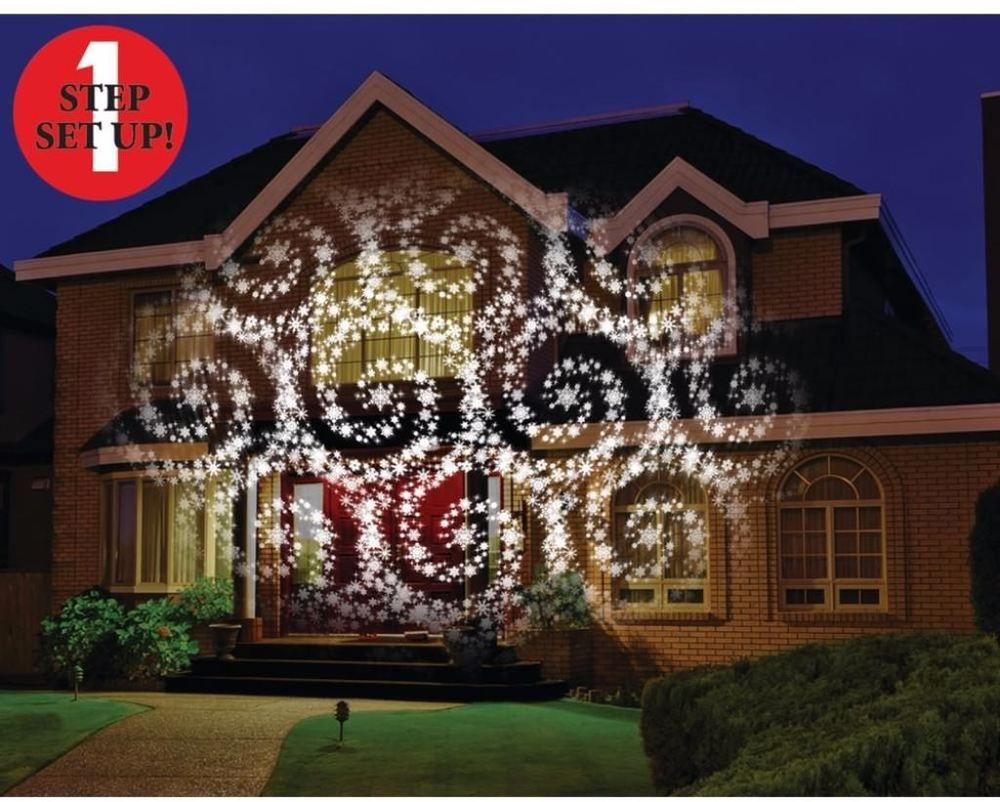 projection moving christmas landscape outside door lighting home holiday depot outdoor lights led asda light garage projector snowflake