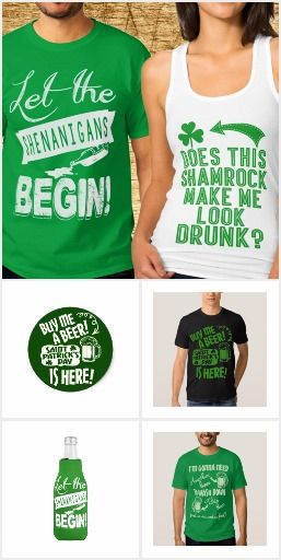 0649d05a Funny St Patricks Day T Shirts Apparel Accessories | Funny Saint ...