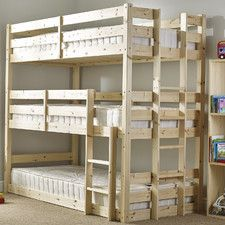 Derby 3 Tier Triple Sleeper Bunk Bed Furniture And Pallet Stuff