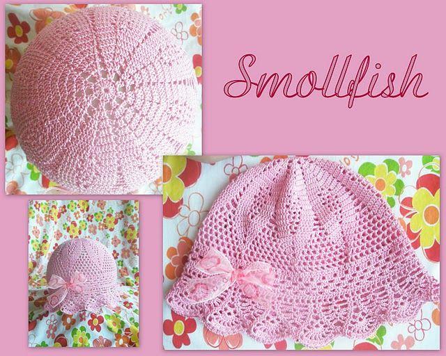 Sombrero Panamá / Patrones crochet ~ Patrones para Crochet | gorros ...