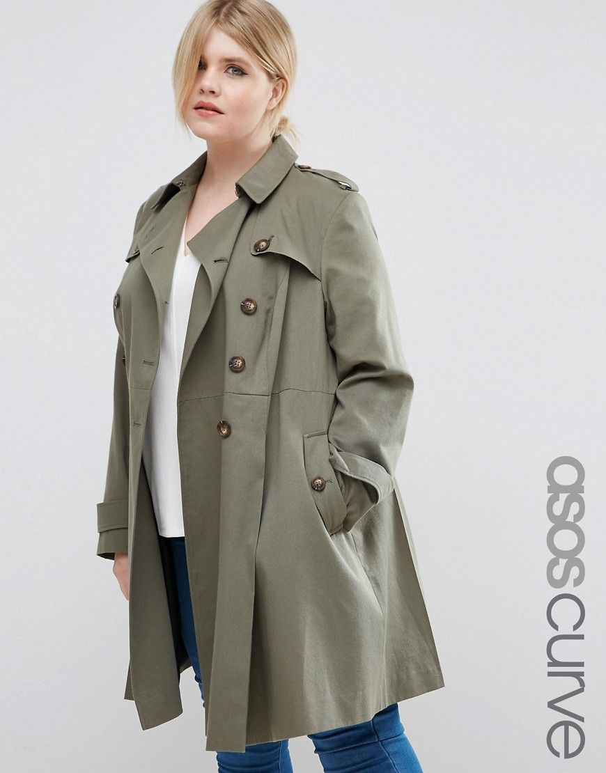Shop for plus size coats and jackets with ASOS. Shop for a range of women's  plus size coats and large size jackets in a range of styles.