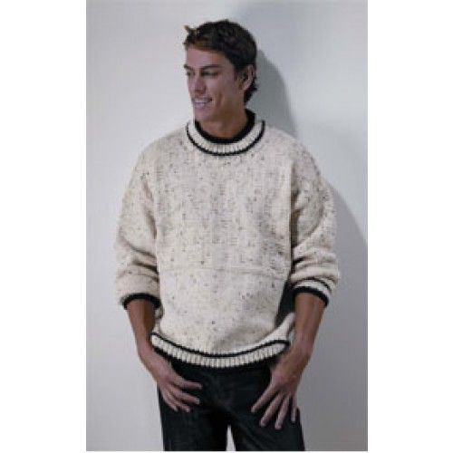 Mary Maxim - Free Easy Favorite Sweater Knit Pattern - Free Patterns - Patterns & Books