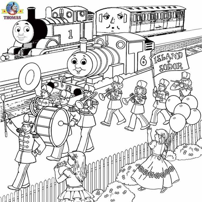 Worksheets Free Printable Activities Kids Coloring Pages Thomas Train