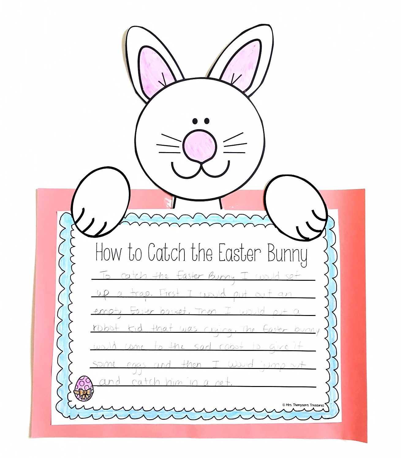 Cute Easter writing crafts!