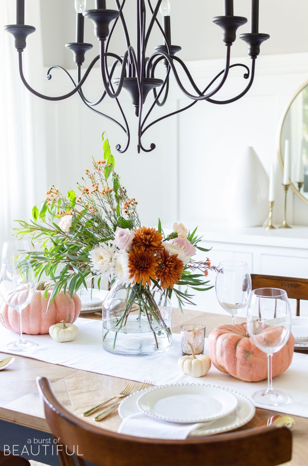 35 Thanksgiving Table Centerpieces That Are Seriously Gorgeous images