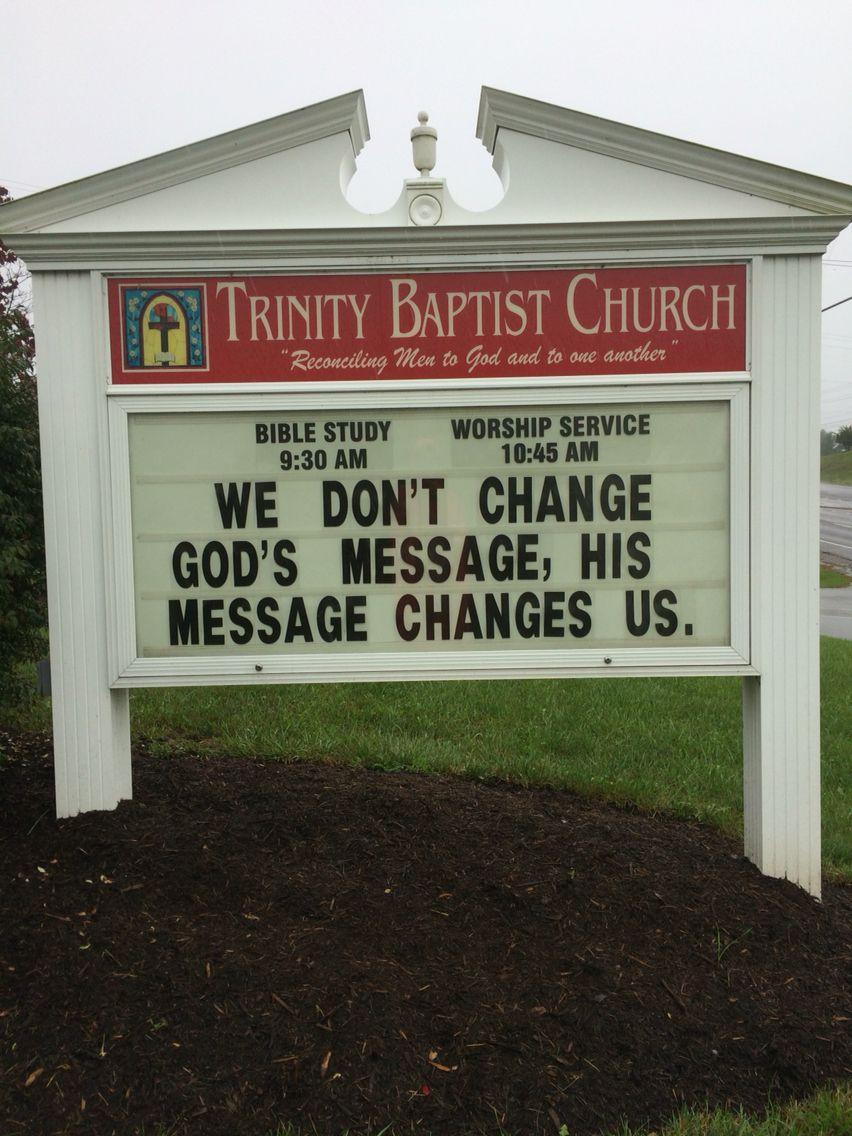 Church Sign Quotes Trinity Baptist Church Christiansburg Va Church Sign  Marquee