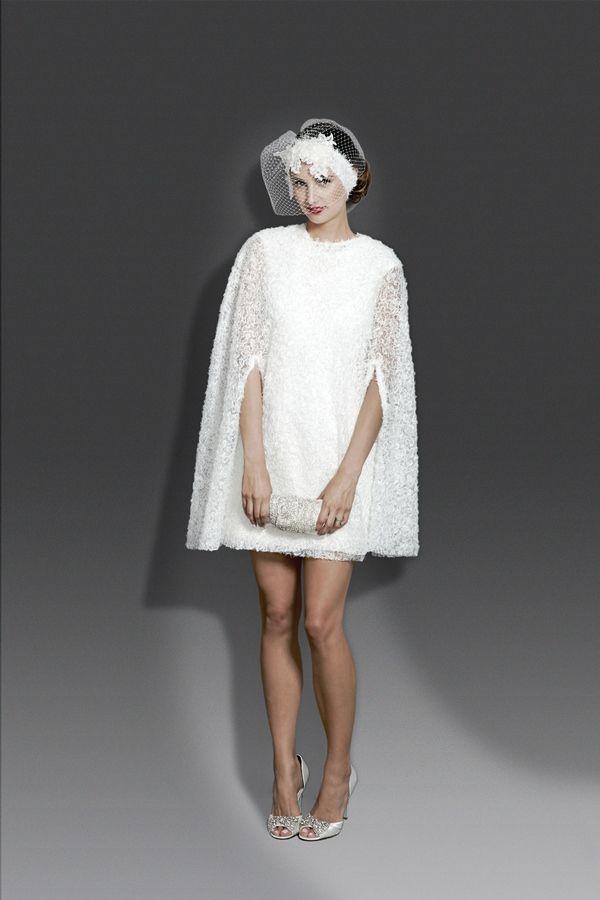 Very Jackie O - Little White Dress by Modern Trousseau | wedding ...