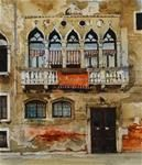 David Morris - water color, European buildings
