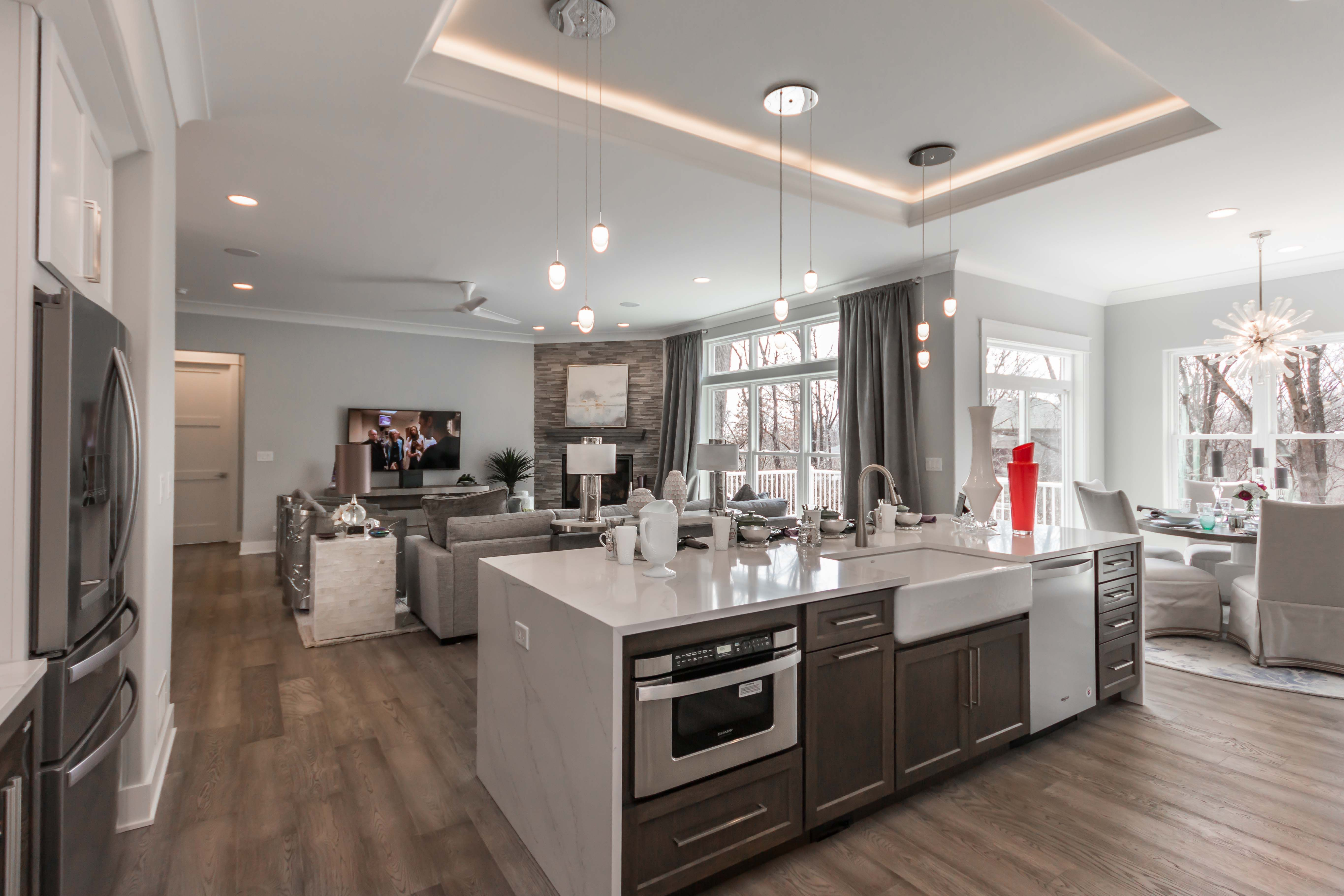 Best Beautiful Kitchen Design In This Open Concept Ranch Home 400 x 300