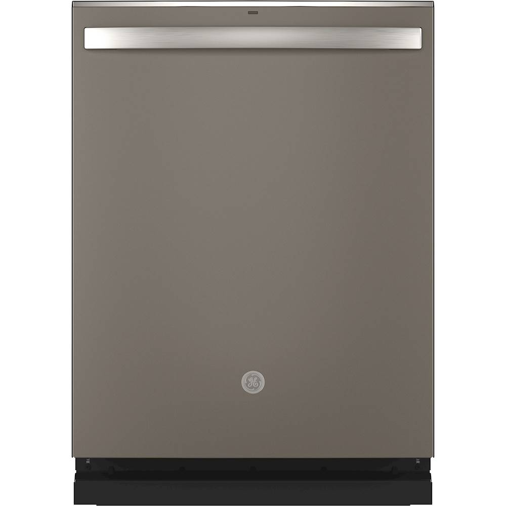 Ge Top Control Built In Dishwasher With Stainless Steel Tub 3rd Rack 46dba Slate Gdt665smnes Best Buy Steel Tub Built In Dishwasher Ge Dishwasher