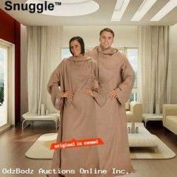 Snuggle - The Blanket With Sleeves - FREE SHIP Continental 48 USA