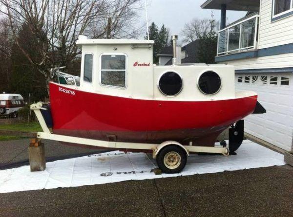 Rosebud Tiny House Boat | Tiny Houses and Ideas | Shanty boat, Boat, Tiny house