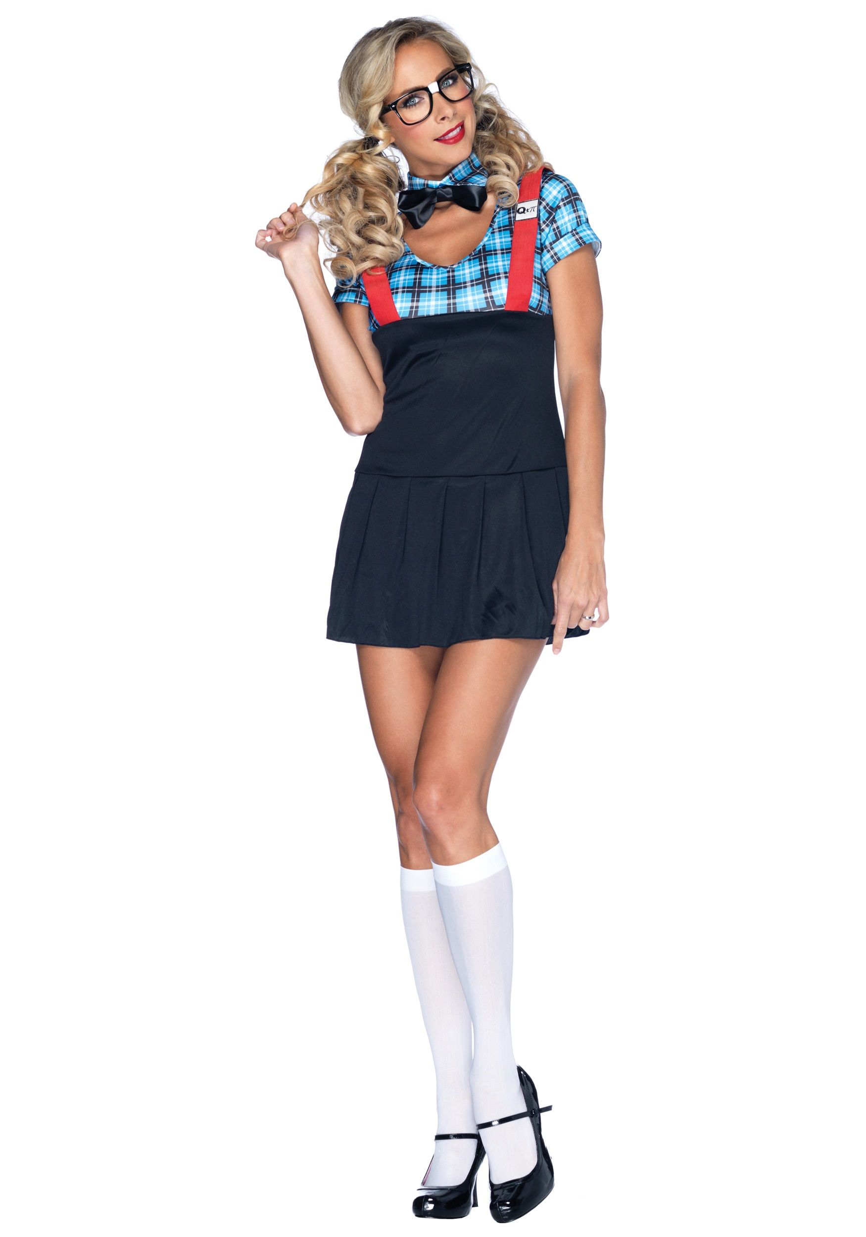 Kostüm Halloween sexy Nerd