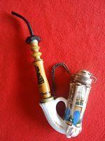 Porzellan,Pfeife,Napoleon.hexagonal,handbemalt,Pirkenhammer?,top,selten,rar